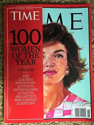 Time 100 Women Of The Year March 2020 Magazine