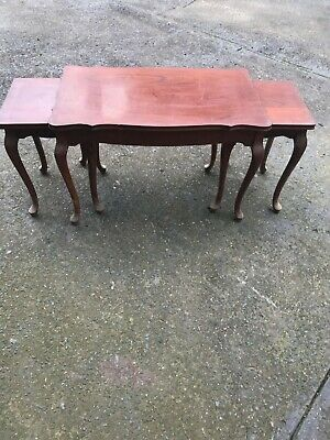 Cedar Nest of Tables - Cabinet Work by Ricketts & Thorp