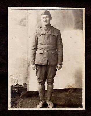 """The """"SPANISH FLU DIVISION"""" (1918) 89th """"MIDDLE WEST"""" Soldier CAMP FUNSTON Kansas"""