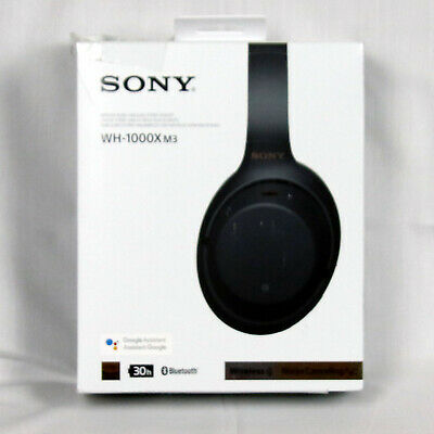 Sony WH-1000XM3 Wireless Noise Cancelling Headphones -Black WH1000XM3