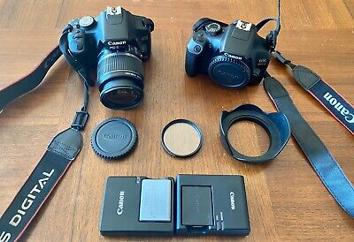 Canon EOS Rebel T1i EOS & Canon EOS Rebel T6 (Read Details Sold Together)