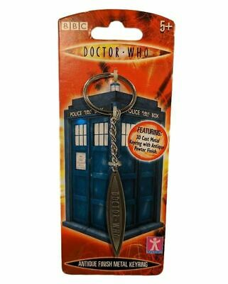 Doctor Who Logo 3D Cast Metal Keychain