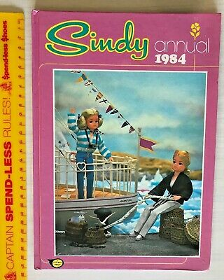 Vintage 1984 Sindy The Teen Pedigree Doll Photo Book Annual Hb Uk Fleetway Nm!!!