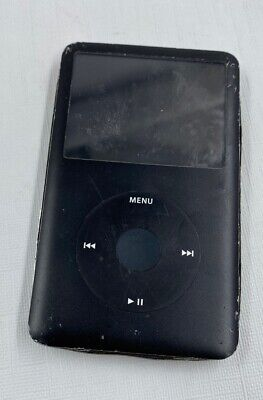 Apple iPod Classic 6th Generation Black A1238 (80GB) Damaged/Not working