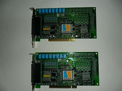 2 X Isolation PCI-P8R8 Board with 8 Channels of Isolated Digital Input