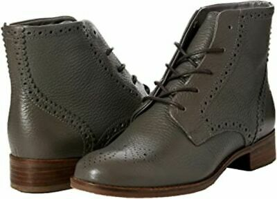 Clarks Ladies Lace-up Ankle Boots NETLEY FREYA Grey Leather UK 6 / 39.5