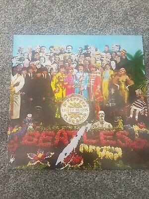 Sgt Pepper's Lonely Hearts Club Band The Beatles record album vinyl lp