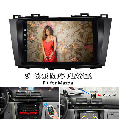 9 inch Touch Screen HD 2.5D Explosion-proof Glass Car MP5 Player Fit for Mazda