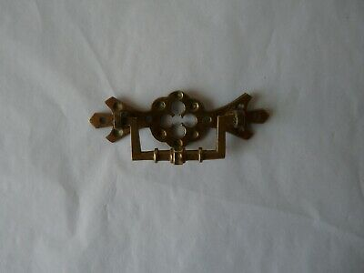 Antique Small BRASS Handle - Arts & Crafts Style