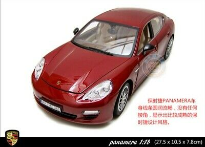 Porsche Panamera Model Cars 1:18 Toys Collection/&Gifts Alloy Diecast In Box Red