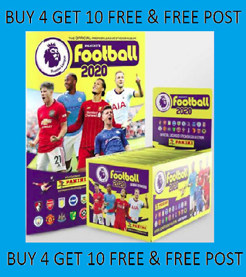 Panini FOOTBALL 2020 Premier League Stickers BUY 4 GET 10 FREE 501-636 FREE POST