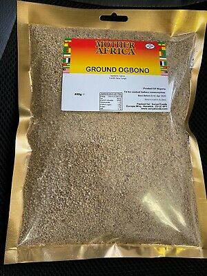 Mother Africa Ground Ogbono 400g (Single Pack)