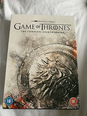 Game Of Thrones The Complete Eighth Season - Brand New Not Sealed - DVD