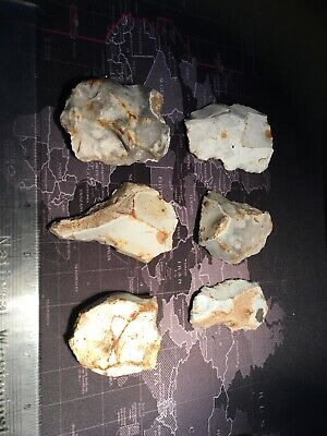 Neolithic Group Of Worked Flint.Prehistoric