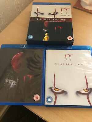 It 2 Film Collection Chapter One Two Blu Ray