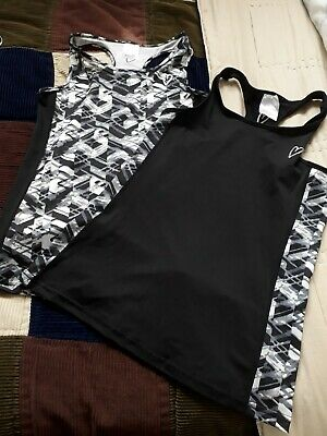 Two New Active Wear Tops Chainstore Age 8/9 Years