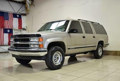 1999 Chevrolet Suburban  1999 Chevrolet Suburban 2500 4X4 LEATHER 3RD ROW SEATS SUPER CLEAN MUST SEE