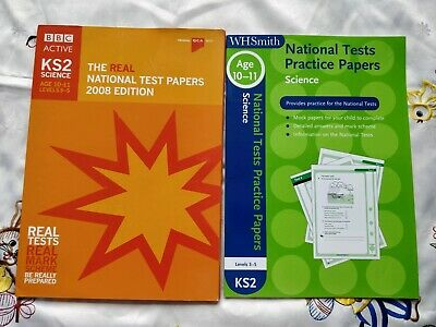 7 NEW KS2  SATS Science National Test Papers - 2 past papers and 5 practise (G3)