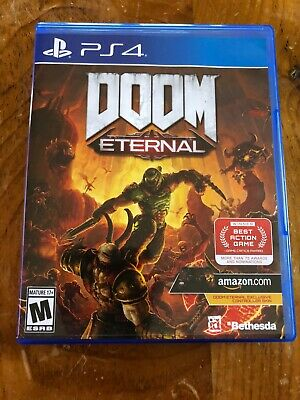 Doom Eternal (PS4, 2020), Immaculate Condition Comes W/Exclusive Controller Skin