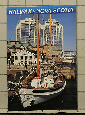 Halifax Waterfront Nova Scotia vintage POSTCARD PC32