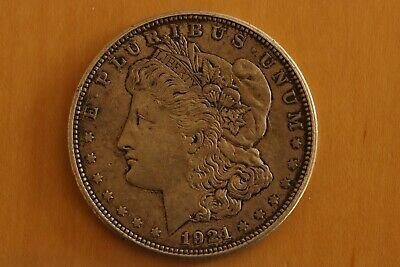1921 - D Silver Morgan Dollar