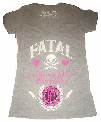 """FATAL Crew Clothing """"Money Over Everything"""" Girls Small"""