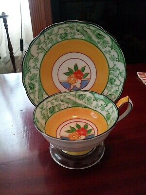 Paragon Star Tea Cup and Saucer Very Rare Bone China,  Excellent Condition