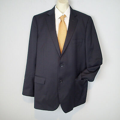 1818 FITZGERALD brooks brothers SUIT 44 l  ,JACKET BLAZER,wool ,NAVY BLUE T7
