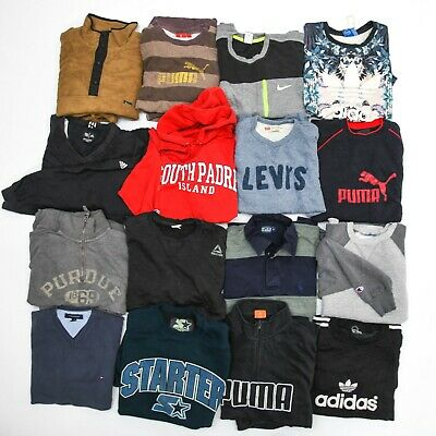 Wholesale Bundle 30x Sweatshirts | Vintage & Modern Branded Sportswear Job Lot