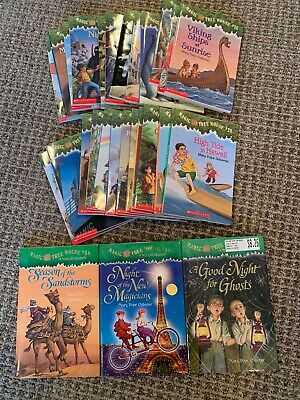 Lot of 28 Magic Tree House kids books by Mary Pope Osborne reading