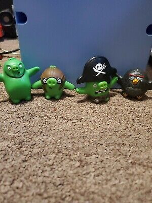 The Angry Birds Movie 4Pc Lot from McDonalds 2016