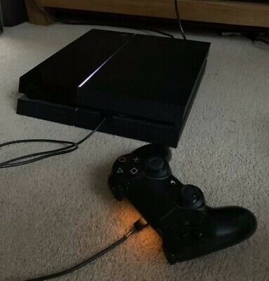 Sony PlayStation 4 500GB Console - Jet Black