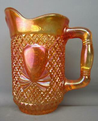 Sowerby (England) PINEAPPLE Marigold Foreign Carnival Glass Creamer 528