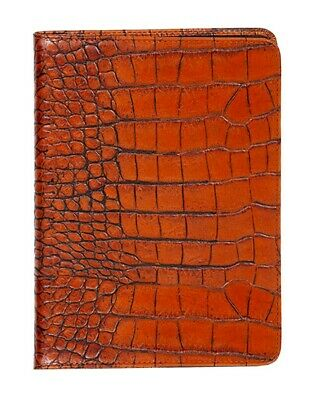 Scully Western Planner Exotic Print Leather Desk Journal 1046B-0
