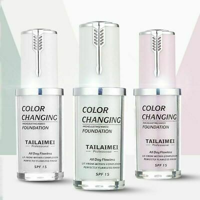 TLM Magic Color Changing Foundation Makeup Change Skin Concealer Tone W6W9