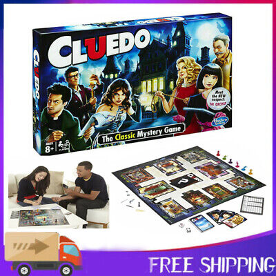 UK New Cluedo Board Game The Classic Mystery Perfect Family Game High Quality