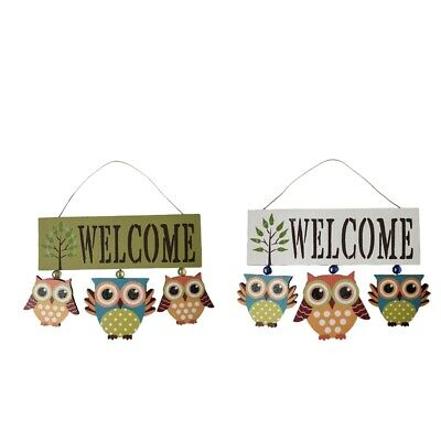 Wood Wall Hanging Funky Owl Ornament Wall Garden Decor Free Shipping 12 99 Picclick