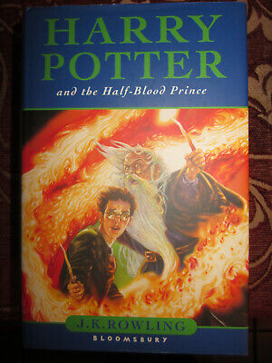 Harry Potter and the Half-Blood Prince Joanne K. Rowling First Edition 2005geb.
