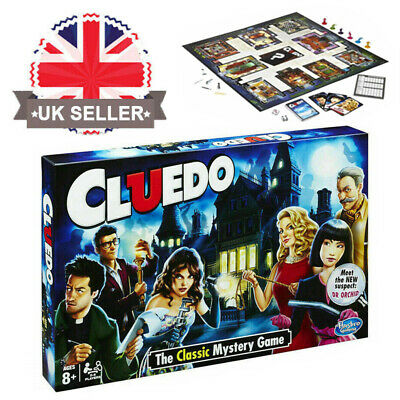 Hasbro Gaming Cluedo The Classic Mystery Board Traditional Game Family Party UK