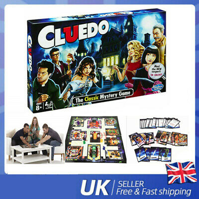 Cluedo The Classic Mystery Board Game Perfect Family Game New Free Dispactch Kid