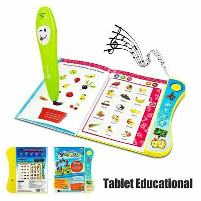 Learning Toys For 3+Year Old Interactive Book Toddler Educational Kids Children