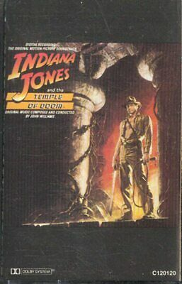 Indiana Jones and the Temple of Doom -Soundtrack Cassette Tape