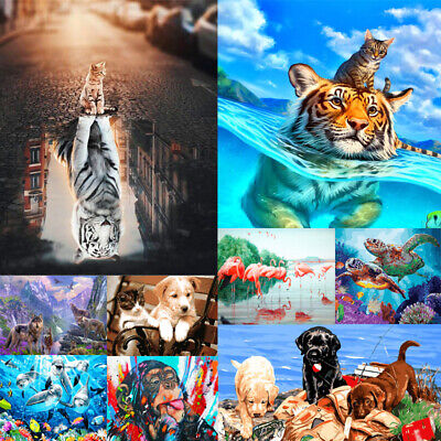 Animal DIY Paint By Numbers Kit Digital Oil Painting Artwork Wall Home Decor