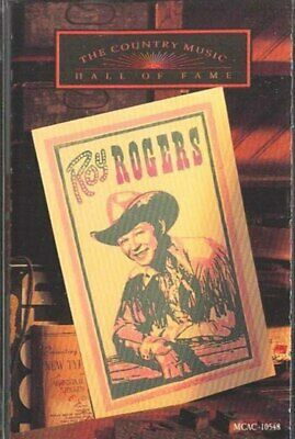 ROY ROGERS: Country Music Hall of Fame Series Cassette Tape