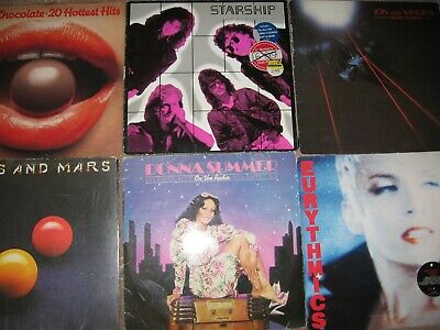 Job Lot, Large Rock And Pop Collection, 40+ Albums