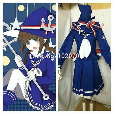 Wadanohara And The Great Cosplay Hansenne twin tail Wig hair AD:21