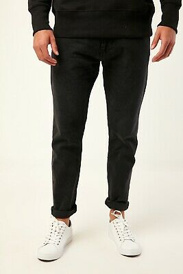BNWT Tommy Hilfiger MODERN TAPERED 1988 JEAN BLACK 100% Recycled Cotton 34/32