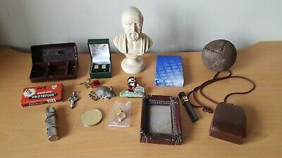 Mixed Job Lot House Drawer Clearance Items Collectables Curios