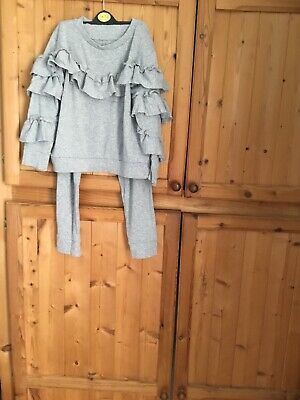 Girls Grey Tracksuit 10 Yrs