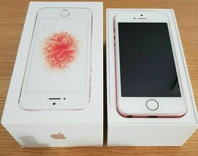 IPHONE SE 64gb ROSE GOLD (Unlocked) A1723 NEW BOX